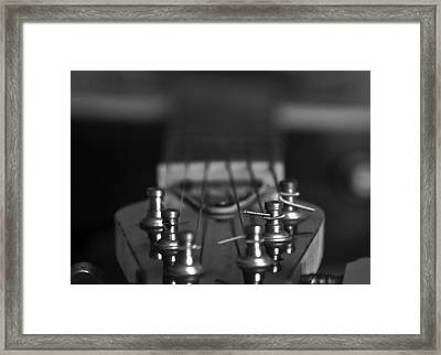 Guitar01 Framed Print by Svetlana Sewell