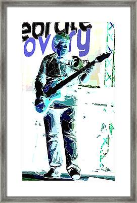 Guitarrist Framed Print by David Alvarez