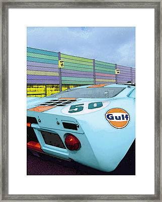 Gulf 50 Framed Print by Kenneth Breeze