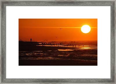 Gulf Coast Sunday Morning Framed Print by Michael Thomas