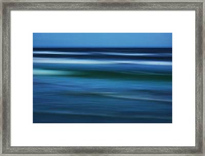 Gulf Of Mexico Framed Print by Marilyn Hunt