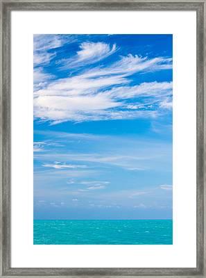 Gulf Serenity  Framed Print by Adam Pender