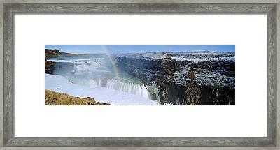 Gullfoss Falls Framed Print