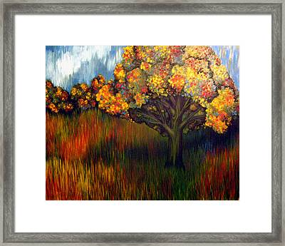 Gumball Tree 0002 A.k.a. Mud Framed Print