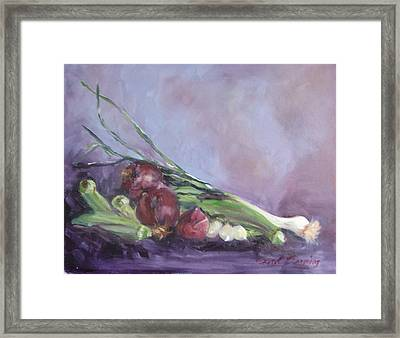 Framed Print featuring the painting Gumbo  by Carol Berning