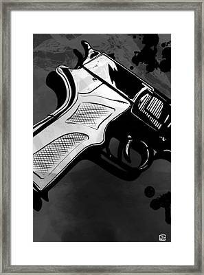Gun Number 1 Framed Print