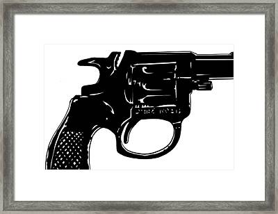 Gun Number 3 Framed Print