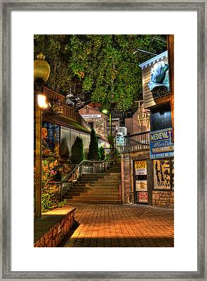 Guns Knives And Jail Framed Print by Greg and Chrystal Mimbs