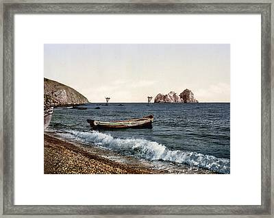 Gursuff - Crimea - Ukraine Framed Print