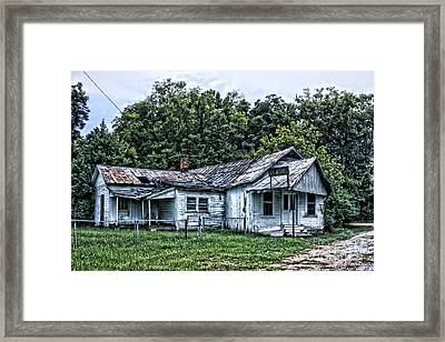 Gus Mitchell Framed Print by Joe Finney