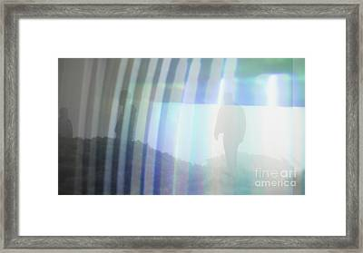 Guy Lines Framed Print by Ruby Hummersmith