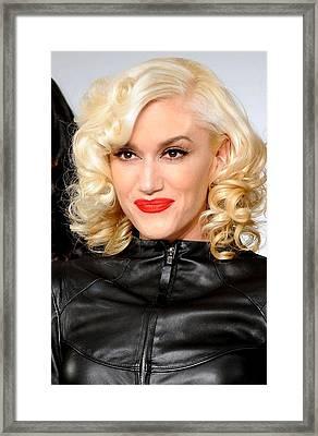 Gwen Stefani In Attendance For L.a.m.b Framed Print by Everett