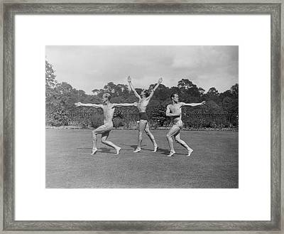 Gym In The Park Framed Print by A Hudson