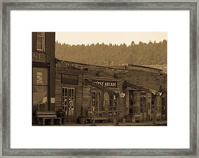 Gypsy Arcade Framed Print by Robert Torkomian