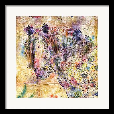 Gypsyhorse Framed Prints