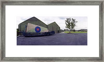 H-p Hastings Wing Raf Elvington Framed Print by Jan W Faul