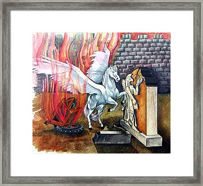 Habakkuk Framed Print by Paul Abrahamsen