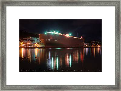 Habour Framed Print by Dexter Fassale