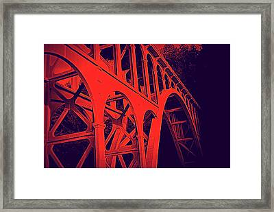 Haceta Head Bridge Framed Print