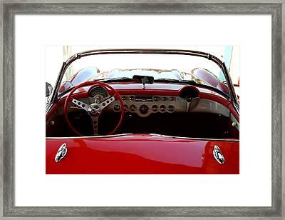 Hackberry Corvette Framed Print