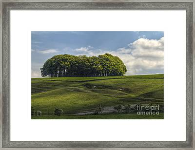 Hackpen Hill Framed Print by Clare Bambers
