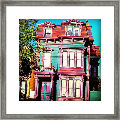 Haight And Ashbury Reminiscent  Framed Print