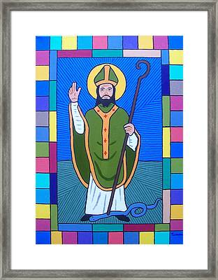 Hail Glorious Saint Patrick Framed Print by Eamon Reilly