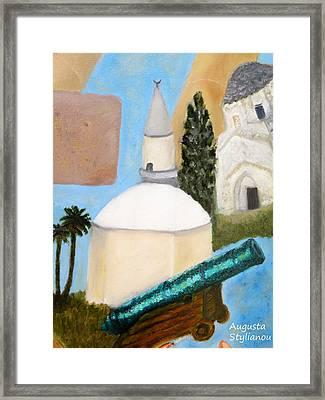 Hala Sultan Tekke Framed Print by Augusta Stylianou
