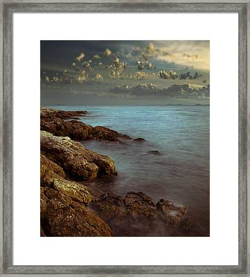 Half A Dream V2 Framed Print by Akos Kozari