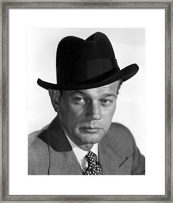 Half Angel, Joseph Cotten, 1951 Framed Print