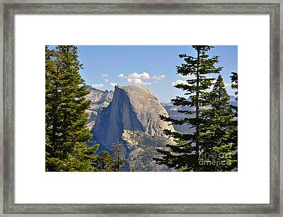 Half Dome Framed Print by Camille Lyver