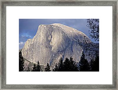 Half Dome Framed Print by Lynn Bawden