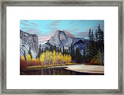 Half-dome Framed Print by Rick Gallant