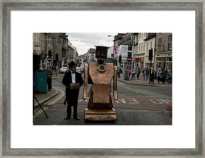 Half Human No 2 Framed Print by Peter Jenkins