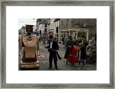 Half Human Framed Print by Peter Jenkins