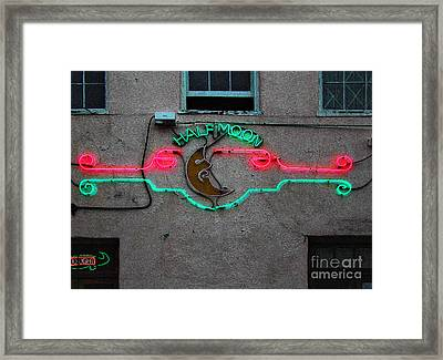 Half Moon Bar New Orleans Framed Print