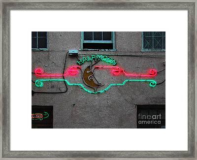 Half Moon Bar New Orleans Framed Print by Kathleen K Parker