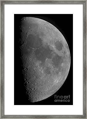 Half-moon Framed Print