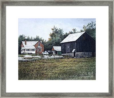 Haliburton Farm Framed Print