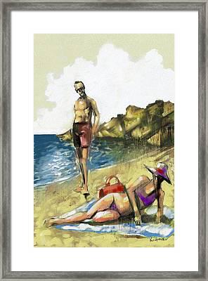 Hallo Framed Print by Alexandros Koumpios