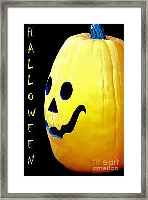 Halloween 1 Framed Print by Maria Urso