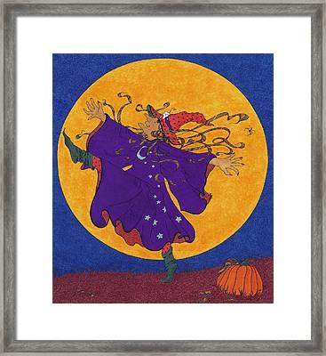 Halloween Dance Framed Print