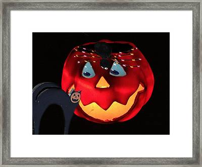 Halloween Fun Art Framed Print by Debra     Vatalaro