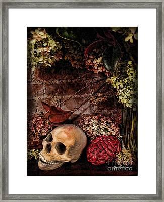 Halloween Still Life Framed Print