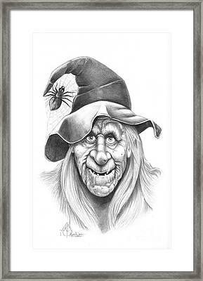 Halloween Weeotch Framed Print by Murphy Elliott
