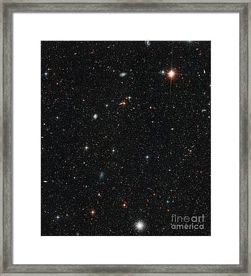 Halo Stars In Andromeda Galaxy M31 Framed Print by Space Telescope Science Institute NASA