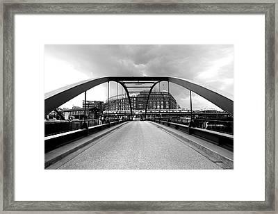 Hamburg Hafencity Framed Print