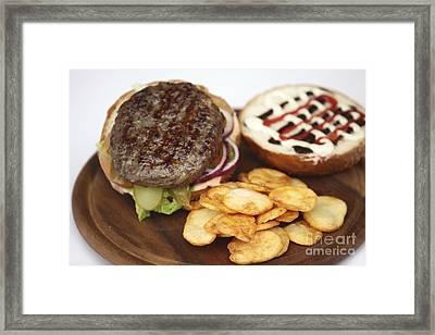 Hamburger  Framed Print