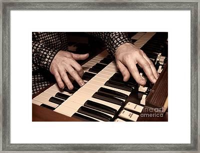 Hammond Framed Print