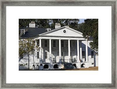 Hampton Plantation Framed Print by Paulette Thomas